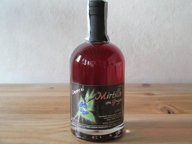 Mirtillo & Grappa liquore