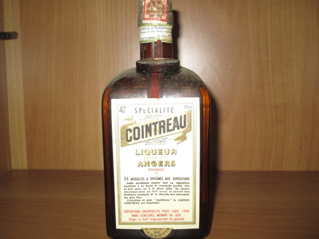 Cointreau Vecchio very old bottle
