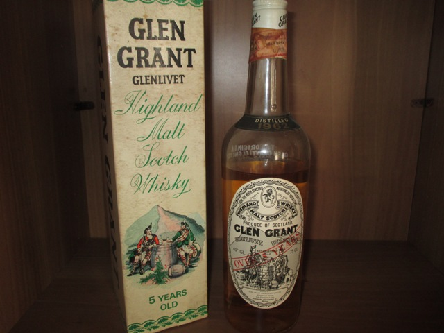 Glen Grant 5 years old bottle