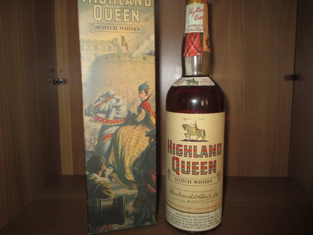 Higland Queen old bottle
