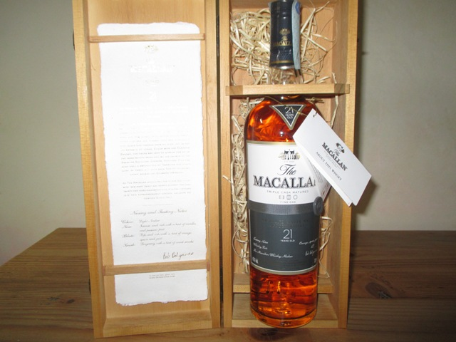 The Macallan 21 Anni