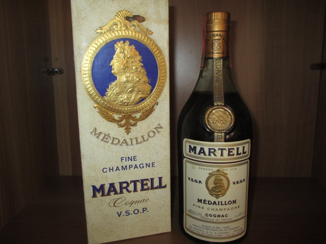 Martell VSOP Mèdaillon very old bottle