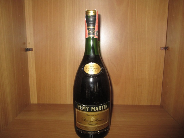 Remy Martin VSOP Cognac old bottle